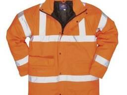 Куртка утепленная для автодорожных работ, зимняя куртка сСОП