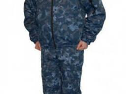 Куртка утепленная камуфляж, с отстегивающимся воротник
