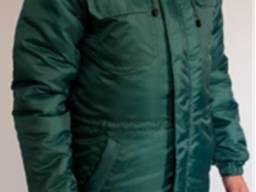 Куртка утепленная FREE WORK Эксперт зеленая