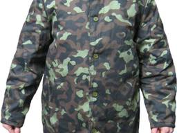 Куртка утепленная камуфлированная