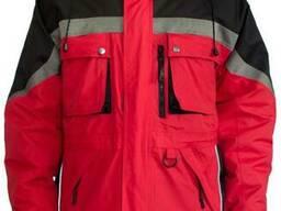 """Рабочая куртка красного цвета """"Милтон"""""""