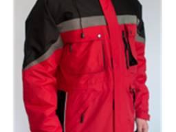 Куртка утепленная Milton красная