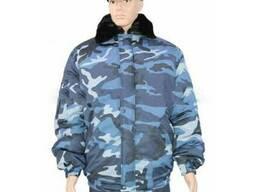 Куртка утепленная «Пилот» камуфлированная рис. «Белая Ночь»