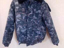 """Куртка утепленная """"Пилот"""" на синтепоне для охраны"""