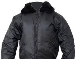 Куртка утепленная «Пилот» с меховым воротником