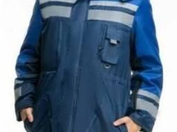 Куртка утепленная с СВП полосами Ельбрус