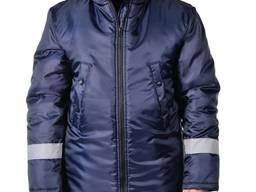 Куртка утепленная, стойка с флисом внутри