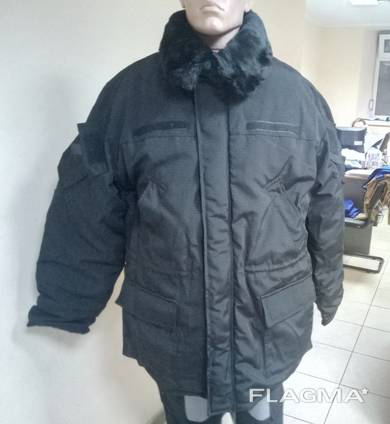 Куртка утепленная ткань рип-стоп для охранных структур