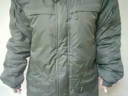 """Куртка утепленная, """"Ураган"""" цвет оливковый для охраны"""