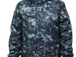 Куртка утепленная 'Вахта' флис, камуфляж Город