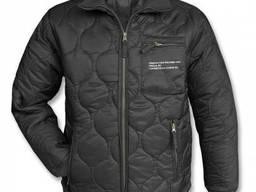 Куртка утеплитель стеганая Mil-Tec черная