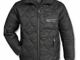 MIL-TEC Куртка - утеплитель стеганая черная