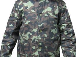 Камуфлированная куртка рабочая