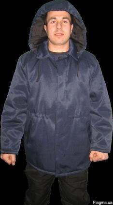 """Куртка ватная """"Оптима"""" с капюшоном мужская, спецодежда."""