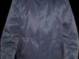 Куртка ватная Оптима с капюшоном мужская, спецодежда.