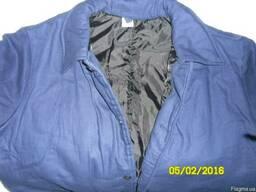 Утепленная куртка рабочая, спецодежда на ватине СССР