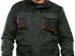 Куртка-ветровка мужская рабочая черная