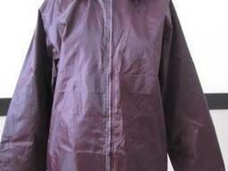 Куртка-ветровка рабочая бордового цвета пошив