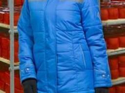 Куртка Ангара NEW женская (васил серый)