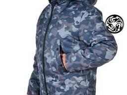 Куртка зимняя Аляска рис. Город для охраны