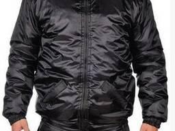 Куртка зимняя черная, мужская, спецодежда