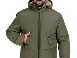 Куртка зимняя мужская, утепленная спецодежда