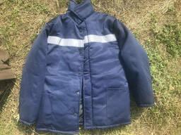 Куртка зимняя на синтепоне с СВП полосой