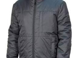 Куртка зимняя рабочая серая ткань плащевая