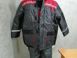 Куртка зимняя рабочая ткань оксфорд
