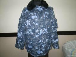 Куртка зимняя рис. Город для охраны