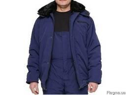 Куртка зимняя с меховым воротником для прорабов