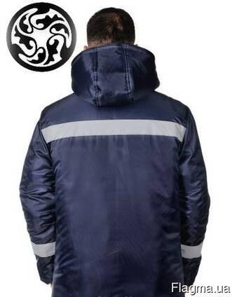 13b7831fbf983 Куртка зимняя сигнальная Аляска, т. -синяя цена, фото, где купить ...