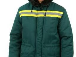 Куртка зимняя, униформа для склада, мужская спецодежда