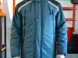 Куртка зимова сіра Фрост