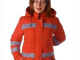 Куртка зимова жіноча швидка допомога