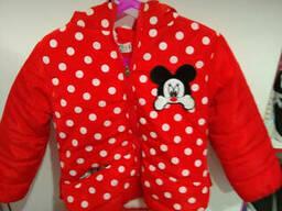 Курточка демисезонная на девочку размер XXL (Распродажа)