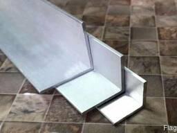 Уголок из алюминия 3*50*100*6000 мм АД31