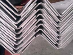 Уголок нержавеющий 60 х 60 х 6 мм AISI 321, 304 цена купить