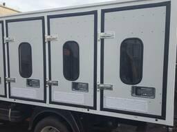Кузов-фургон для перевозки животных (собак)