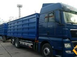 Кузов зерновоз, кузов БДФ, кузов под зерно, контейнер - фото 5
