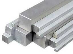 Квадрат стальной, марка стали - Р9, размеры- 10х10 мм