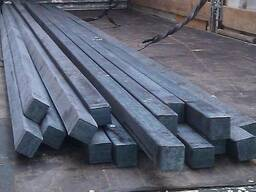 Квадрат сталевий 40х40, 50х50, 60х60 ст. 3, 20, 45