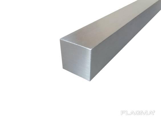 Квадрат алюминиевый 10х10 АД31 L=6м купить цена