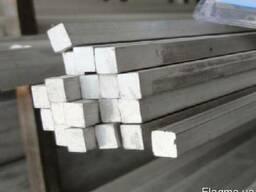 Квадрат алюминиевый 27х27 мм алюминий Д16т