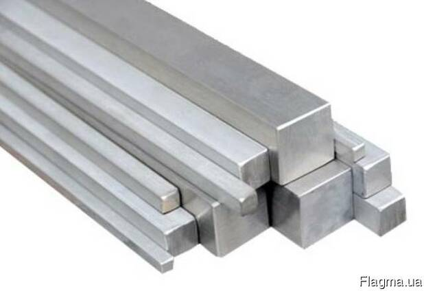 Квадрат алюминиевый АМц 50х50 Мм, купить, цена, доставка