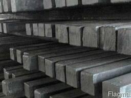 Квадрат металлический по стали 35, стальной на складе