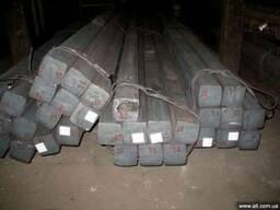 Квадрат стальной 50 мм, ст 20, ст 35, ст 45.