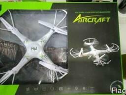 Квадрокоптер (дрон) AirCraft L6039W WIFI FPV c HD камерой