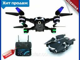 Квадрокоптер S161 беспилотник дрон с камерой WI FI