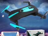 Квадрокоптер селфи-дрон JY018 Mini HD, Автовзлёт автопосадка - фото 1